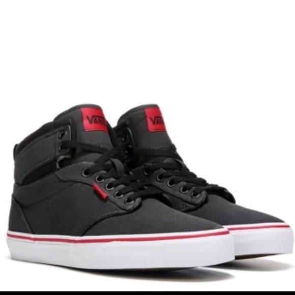 88fa425db01c16 Vans boys Atwood Hi (rock Textile) shoes NIB